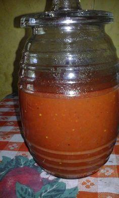 Ingredientes   8 o 10 tomates rojos, grandes   2 dientes de ajo   1 cebolla   1 cda de oregano seco   Dos vasos de agua      ...