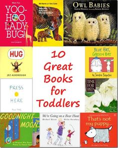 Ten Great Pictures Books for Toddlers