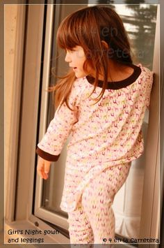 4 EN LA CARRETERA. Handmade: TUTORIAL: NIGHTDRESS AND LEGGINGS - CAMISÓN Y LEGGINGS