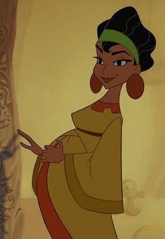 Chicha from Emperor's New Groove.SHE is my favorite Disney princess. Wife and Mom and Pregnant and just plain awesome Dark Disney, Old Disney, Cute Disney, Disney Art, Disney Pixar, Disney Stuff, Disney Cartoon Characters, Disney Cartoons, Yzma And Kronk