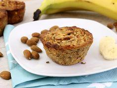 Solls morgens mal schneller gehen?! Dann probier diese Banane Mandel To-Go-Muffins...
