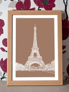 Poster Print: Paris Icons – The Eiffel Tower