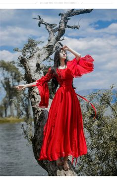 Sexemara/новые женские на лето и весну платье элегантные дамы старинные Красный длинное пляжное макси Boho Платья Vestidosкупить в магазине SexeMaraFactory StoreнаAliExpress