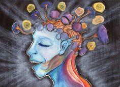 Mientras comienzo a entender cómo funciona mi mente, soy amable con ella, la comprendo y le resto importancia a los pensamientos negativos y pesimistas. (((Sesiones y Cursos Online www.ciaramolina.com #psicologia #emociones #salud)))