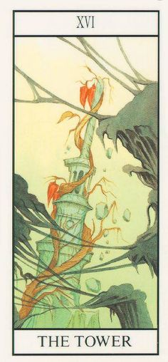 A foreboding card-things have to fall apart in order for them to be rebuilt.  Throw out the window what's causing your turbulence & tear that tower down!   In the reverse, the tower becomes a funnel to be refilled with new & good.