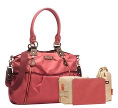Stork Sak Olivia Berry - Way too expensive.  Cute for a girl though baby.  Looks like a purse.