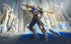 Mobile Legends Hero and Skin Release Dates Schedule Wallpaper Mobile Legends, Alucard Mobile Legends, Hero Wallpaper, Carmilla, Bang Bang, Minecraft Mobile, Ranger, The Legend Of Heroes, Fantasy Characters