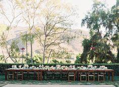 a sophisticated wedding at Maravilla Gardens - photo by Caroline Tran http://ruffledblog.com/a-sophisticated-wedding-at-maravilla-gardens