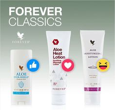 Which one is yours? #foreverliving #foreverclassics