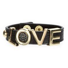 Page D. Leather Love Bracelet   from Von Maur #VonMaur #StyleCorner