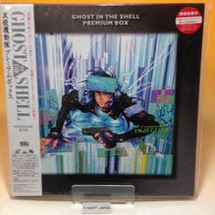 Ghost in the Shell: Premium Box (1995) BEAL-921 LaserDisc LD NTSC OBI Japan B015