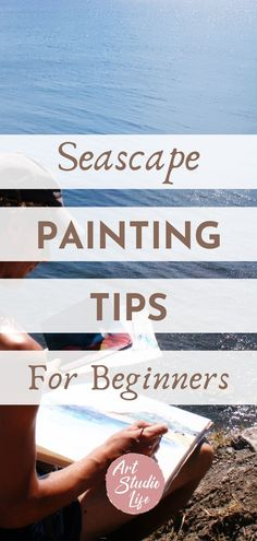 Learn how to paint seascapes with these important painting tips! Seascape painting tips. Seascape painting for beginners. Seascape painting tutorial. Seascape painting in oil paint. Oil painting for beginners. How to paint seascapes. How to oil paint. #seascape #seascapepainting #oilpaintingforbeginners #seascapepaintingtips #seascapepaintingtutorials #howtopaintseascapes Oil Painting For Beginners, Painting Tips, Beginner Art, Seascape Paintings, Learn To Paint, Watercolor, Learning, Fun, Life
