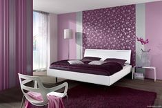 Purple wall decor for bedrooms wall decor for purple bedroom full size of bedroom purple colour wall design purple pink bedroom purple wall decor bedroom Purple Wallpaper Bedroom, Bedroom Interior, Bedroom Design, Wall Decor Bedroom, Woman Bedroom, Purple Bedrooms, Purple Bedroom Color Scheme, Home Decor, Bedroom Color Schemes