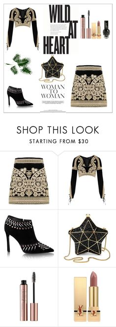 """It's All About YOU x"" by xpinkplaymatex ❤ liked on Polyvore featuring For Love & Lemons, Aspinal of London and Yves Saint Laurent"