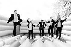 There will be a bouncy castle at our wedding - for the kids... and the little ones!
