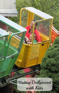 Family Travel: Visiting Dollywood in Tennessee with Kids - Bare Feet on the Dashboard