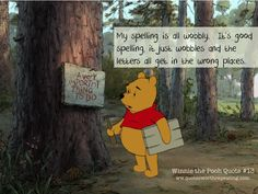 Winnie the Pooh Quote #13