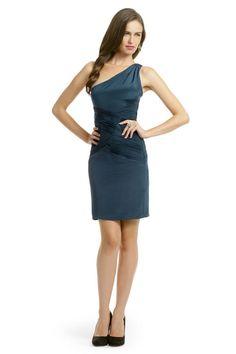 rent the runway - nicole miller teal tart dress