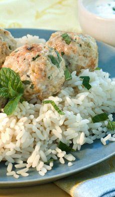 Greek-Style Chicken Meatballs