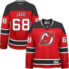 Jaromir Jagr New Jersey Devils Reebok Women's Home Premier Jersey - Red