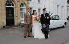 A pleasure today Bagpiping at the Wedding of Sarra & Nicky at Court Colman Manor Bridgend. I was a surprise for the Bride's mother, piping Flower of Scotland & the Welsh National Anthem on approach, then 'Calon Lan' as the Bride arrived in the white Cadillac. Following my playing & participation in photos, I played a newly learned tune 'Murdo's Wedding' at the request of the Bride & for the newlyweds entrance to the Wedding Reception. A very pleasant day :-) #SouthWales #Bagpipes…