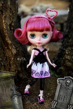 Monster High Blythe ~ Cupid♥ by Voodoolady ♎, via Flickr