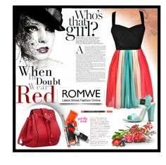"""""""Romwe"""" by tanja-871 ❤ liked on Polyvore featuring women's clothing, women's fashion, women, female, woman, misses and juniors"""