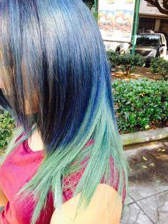 Mix color mix Cosimo oliva Hair