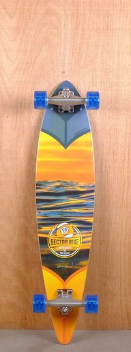 "The Sector 9 38"" Merchant is designed for carving and cruising."