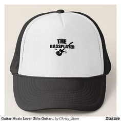 Guitar Music Lover Gifts Guitarist Rok Funny Dad Trucker Hat - Fashionable Urban And Outdoor Hunter Farmer Trucker Hats By Creative Talented Graphic Designers - #hats #truckerhats #fashion #design #designer #fashiondesigner #style #trends #bargain #sale #shopping - Trucker Hats are a great way to cheer your team or promote your brand or make a unique fashion statement or simply keep the sun out of your eyes - Customizable trucker hats are the perfect way to look cool and memorable - Trucker…