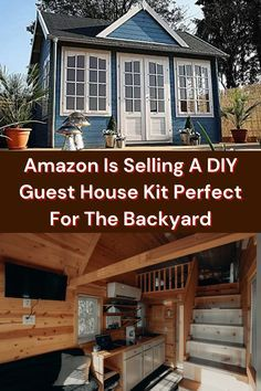 Amazon Is Selling A DIY Guest House Kit Perfect For The Backyard I'm as much of a fan of Amazon as the next person. In fact, I just had a package delivered to me yesterday, ha, ha! There are loads of cool things you can buy there — that's for sure. Cabin Kits, Family Goals, Kit Homes, Cute Couples, Russian Dogs, Cappuccino Recipe, Reeses Cake, Deluxe Nails, College Makeup