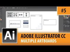 Adobe Illustrator CC 2014 – Setting Up Multiple Artboards – Episode #5 | Graphic Designer Tips : Video Tutorials and Lessons for all Computer Graphic Designers