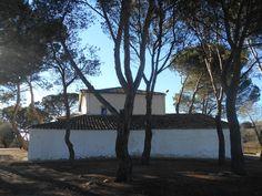 Ermita de San Sebastian. Fachada posterior.