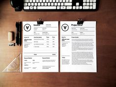 Check out Polem Invoice Template by Standart Octane on Creative Market - Graphic Files Letterhead Template, Stationery Templates, Print Templates, Brochure Template, Flyer Template, Web Design, Creative Design, Layout Design, Graphic Design