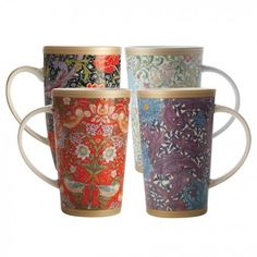 William Morris Mugs Collection by Maxwell & Willams - Other & Accessories - Serveware - Tabletop