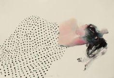 "Saatchi Art Artist Endre Penovác; Painting, ""Dotted II."" #art"