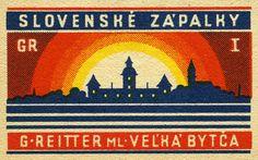 Czechoslovak Matchbox
