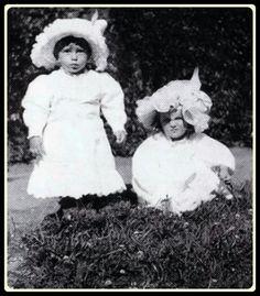 "Grand Duchesses Tatiana and Olga Nikolaevna Romanova of Russia. ""AL"""