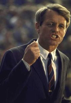 """Robert F. Kennedy: """"Let us dedicate ourselves to what the Greeks wrote so long ago... to tame the savageness of man and make gentle the life of this world."""""""