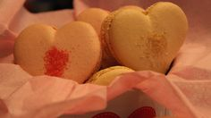Valentine's Heart French Macarons by TC Paris