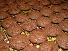 Chocolate brownie cookies with Chinese 5-spice. Yumm!