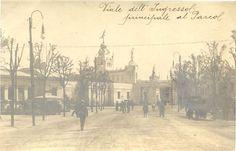 Viale dell'ingresso principale al Parco