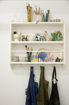 batixa: (via Shopgirl Visits Lotta Jansdotter's Studio in Brooklyn | decor8)