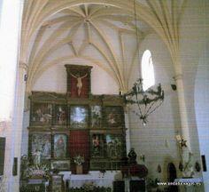 """#Jaén - #Hornos - Iglesia de Nuestra Señora de la Asunción - 38º 12' 54"""" -2º 43' 10"""" / 38.215000, -2.719444  Fue construida en la primera mitad del siglo XVI. El interior es de una sola nave dividida en tres tramos y cubierta con bóvedas."""