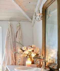 Bathroom Update & What I have learned about Tiling - French Country Cottage