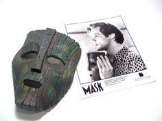 Jim Carrey loki mask display cast off of the Hero mask used in the Movie rare. $149.99, via Etsy.