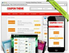 Responsive Coupon Theme  Tap into the affiliate market with your own coupon code website. Start your own coupon website today with our easy to manage, easy to customize, SEO friendly, responsive coupon theme for WordPress
