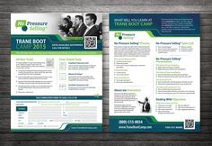 Create seminar flyers for nationally recognized sales training company by VKre8