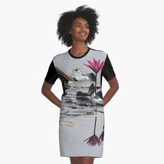 I Dress, Shirt Dress, T Shirt, Chiffon Tops, Printed, Awesome, Plants, Stuff To Buy, Shopping