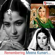 """Referred to as """"The Tragedy Queen"""" for her superb portrayal of dramatic roles in reel life, let us remember the prominent actress Meena Kumari today on her birthday. Here is a walk through in her life in pics"""
